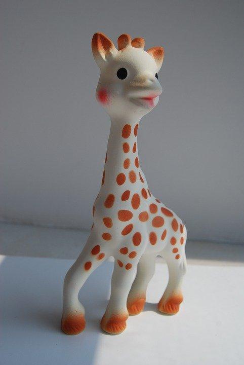 Sophie la girafe n'a pas vieilli après presque 60 ans !